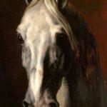 Gemälde / Öl auf Leinwand (o.J.) von Théodore Géricault [1791 - 1824] Bildmaß 65,0 x 54,0 cm Inventar-Nr.: RF544 Systematik: Kulturgeschichte / Tiere / Pferde